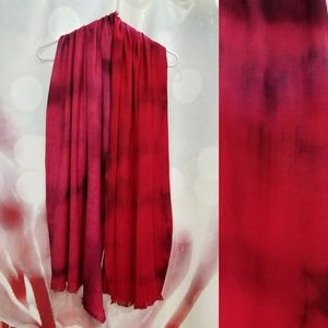 Deck Your Neck scarf - Fuchsia/ Cardinal/Plum
